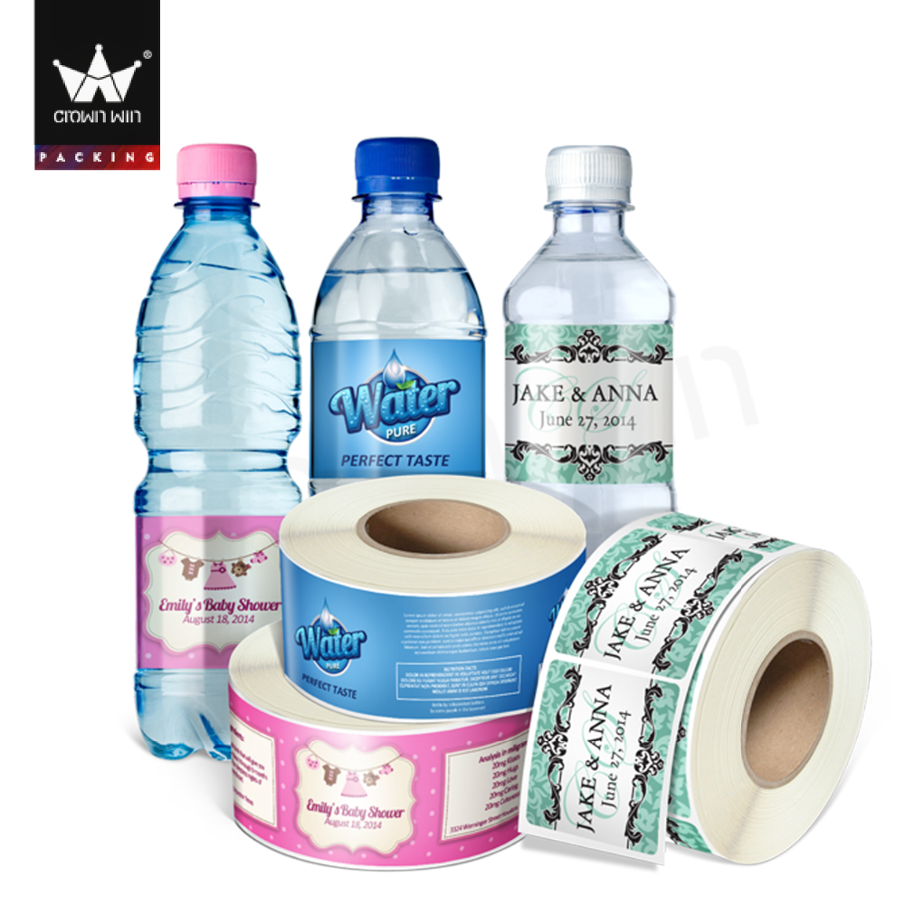 Custom Design Label Printing Machine Roll Sticker For Exporting Bottle