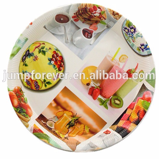 SGS certified high quality coin tray plastic,plastic round catering tray