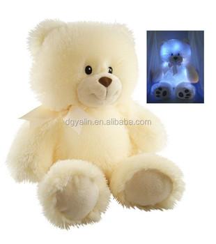 Light Up Teddy Bear Plush Toy