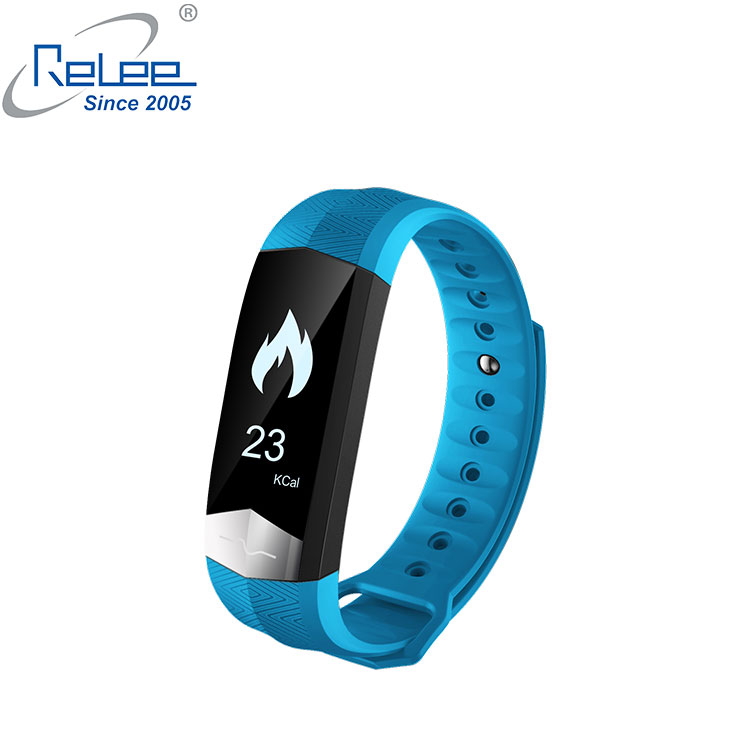 newest 2018 ECG+PPG smart band monitor healtly 0.96inch smart band