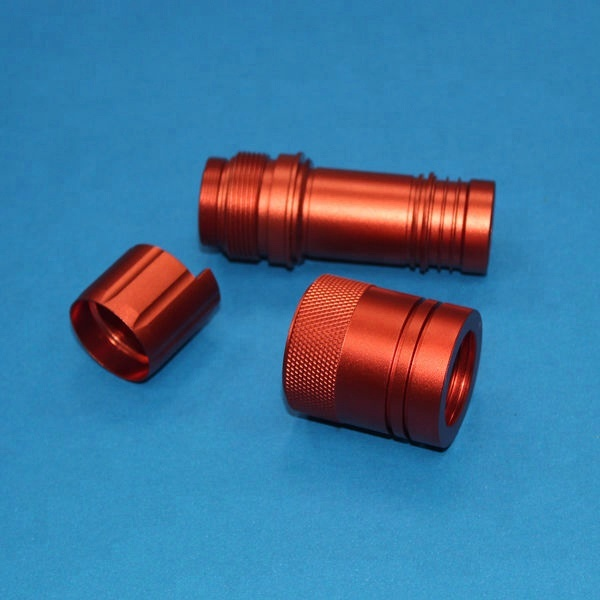 LED flashlight torch <strong>parts</strong>/aluminum cnc precision machining