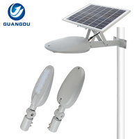 High power outdoor waterproof integrated bridgelux 30w 40w 60w led solar street lights