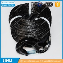 JL synthetic winch rope tow truck, synthetic winch rope utv, plasma rope winch