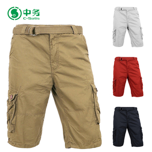35b2d33c79b OEM Brand Customized Summer 100% Cotton USA Style Mens Baggy Cargo Shorts