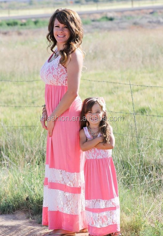 mommy and me clothing mommy and me lace maxi dresses lc009 - buy