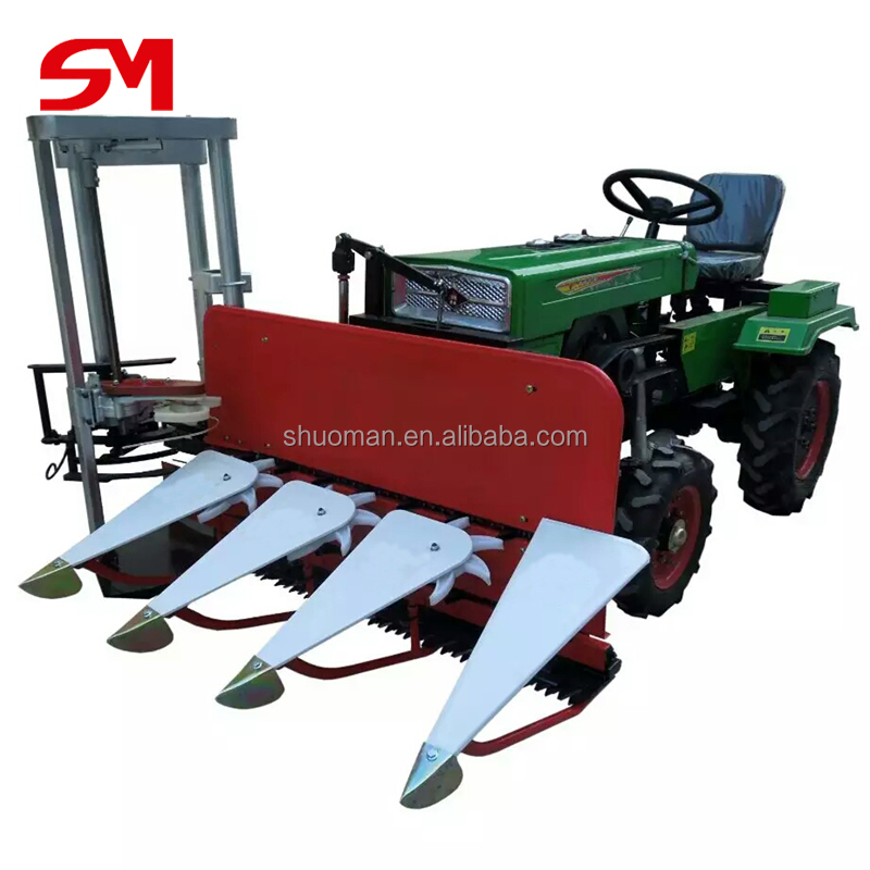 China famous brand commercial small wheat combine harvester