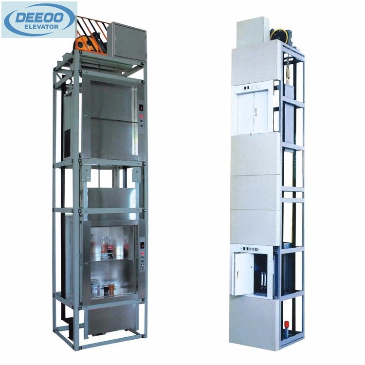 Small electric dumbwaiter food 100kg 200kg 300kg lift