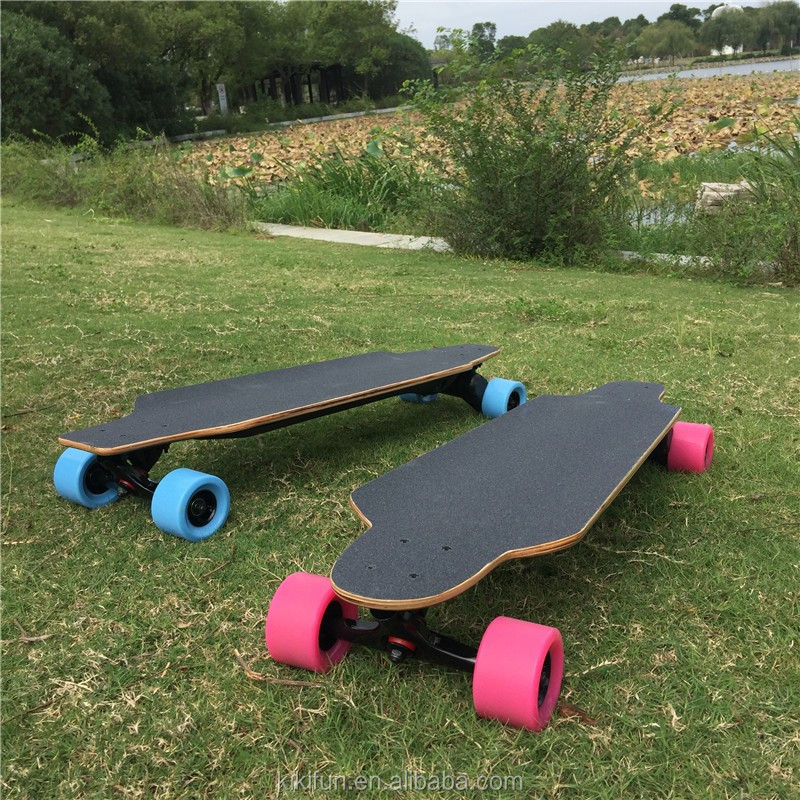 Electric kateboard decks wholesale SKYBOARD adults play new cheap battery electric Skate Board for sale