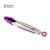 517 Kitchen Cooking multicolor silicone Mini Tongs Metal Frying Tongs