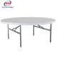 Light cheap outdoor plastic table XYM-T23 with 6 seater