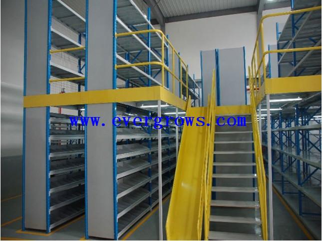 cheap warehouse mezzanine cost steel mezzanine rack kits, View mezzanine  rack, Evergrows Product Details from Dongguan Evergrows Warehouse Storage