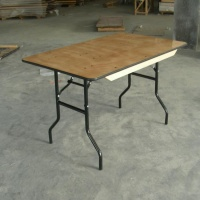 hot sale wood long folding table