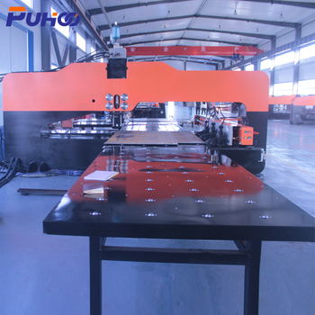 High speed cnc turret hole punching machine steel punch press machine