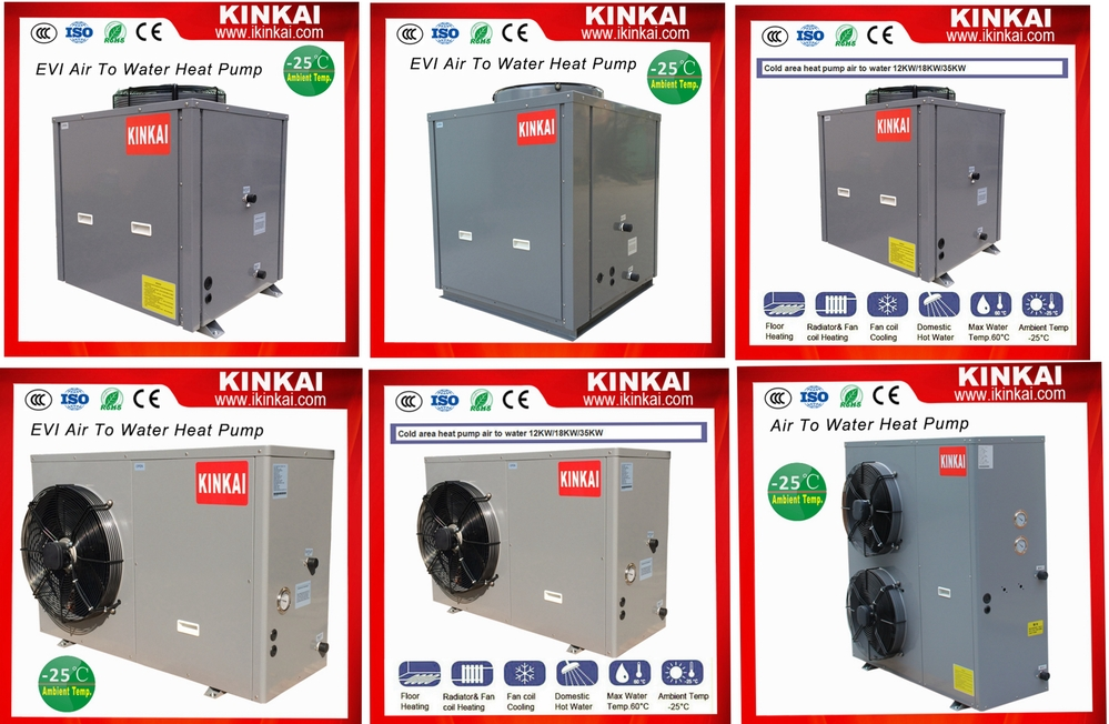 Double compressor heat pump Water Heater Air to water china heat pumps Air source heat pump