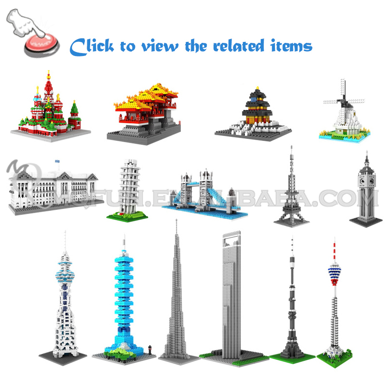 Mini Qute Over 100 styles loz block plastic building blocks puzzle 3d puzzle puzzle cube educational toys 3d games 3d puzzle toy