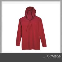 wholesale striped hooded private label v neck vintage tshirt