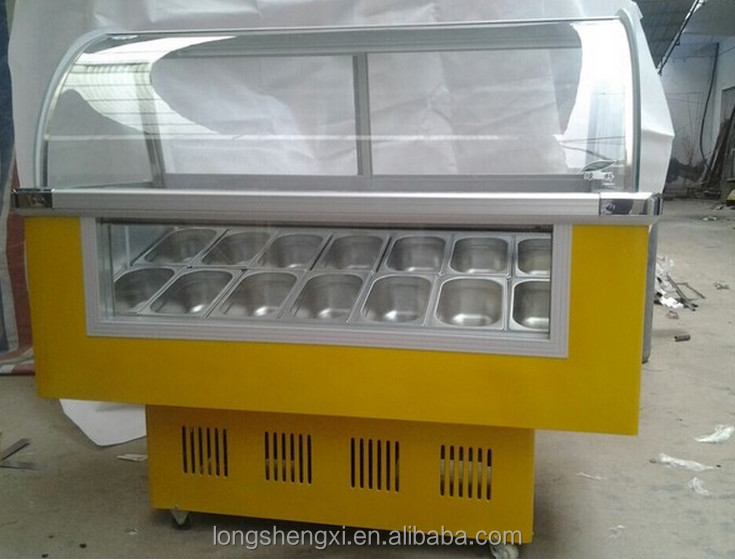 Supermarket Low-price Ice Cream Refrigerator Used For Sale