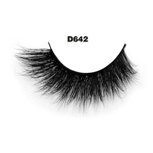 Beautiful thick and curling wholesale private label 3D mink eyelashes