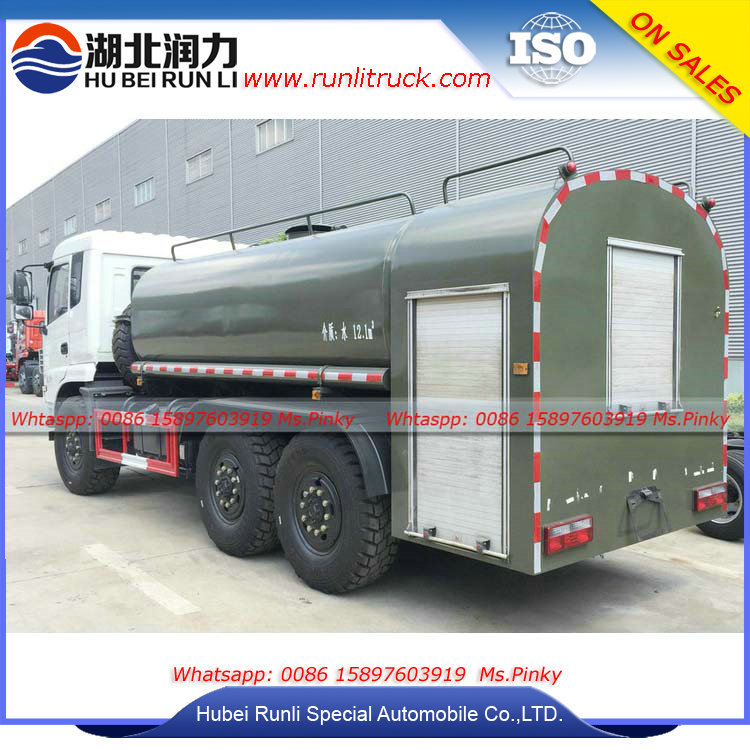 New Model Dongfeng All Wheel Drive 6WD 6X6 Fire Truck Water Tank