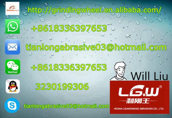 231 Lgw Abrasive 100*6*16 3net 2 Paper Grinding Wheel For Vietnam ...