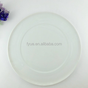Top Level Porcelain 14 12 Inch Serving Plates Round Pizza Plate Without Handle Buy Round Pizza Platepizza Serving Plates14 12 Inch Pizza Plate