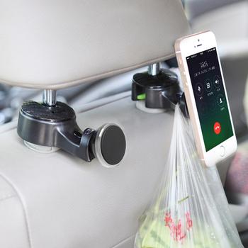 Universal Car Headrest Hanger Hooks Seat Mobile Phone Holder Hook For IPad