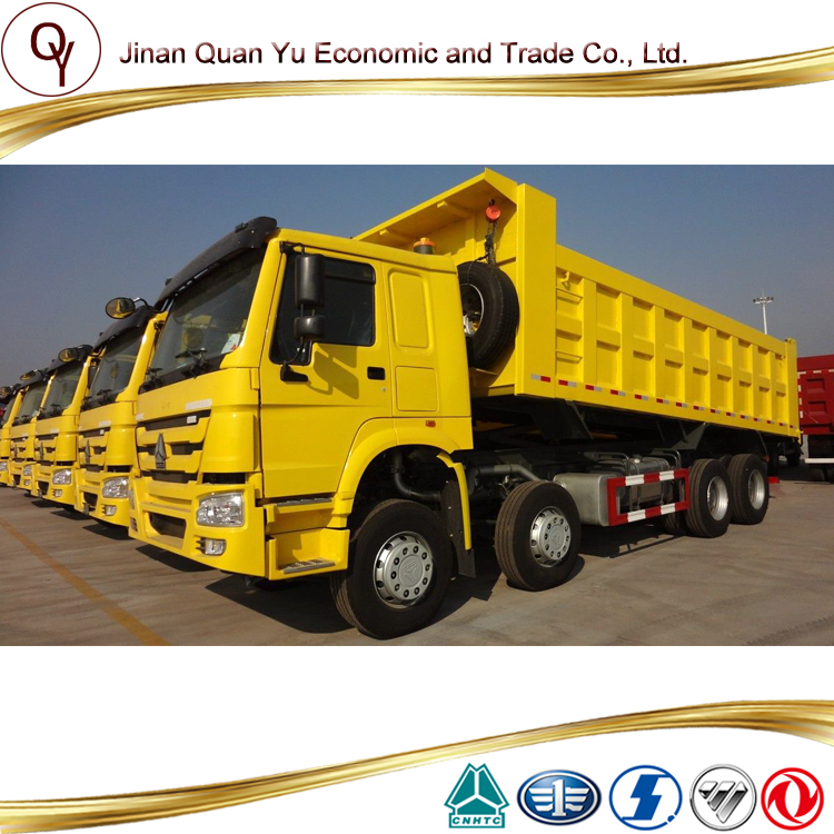 SINOTRUK HOWO 8X4 Dump Truck with 371hp engine 25 cubic