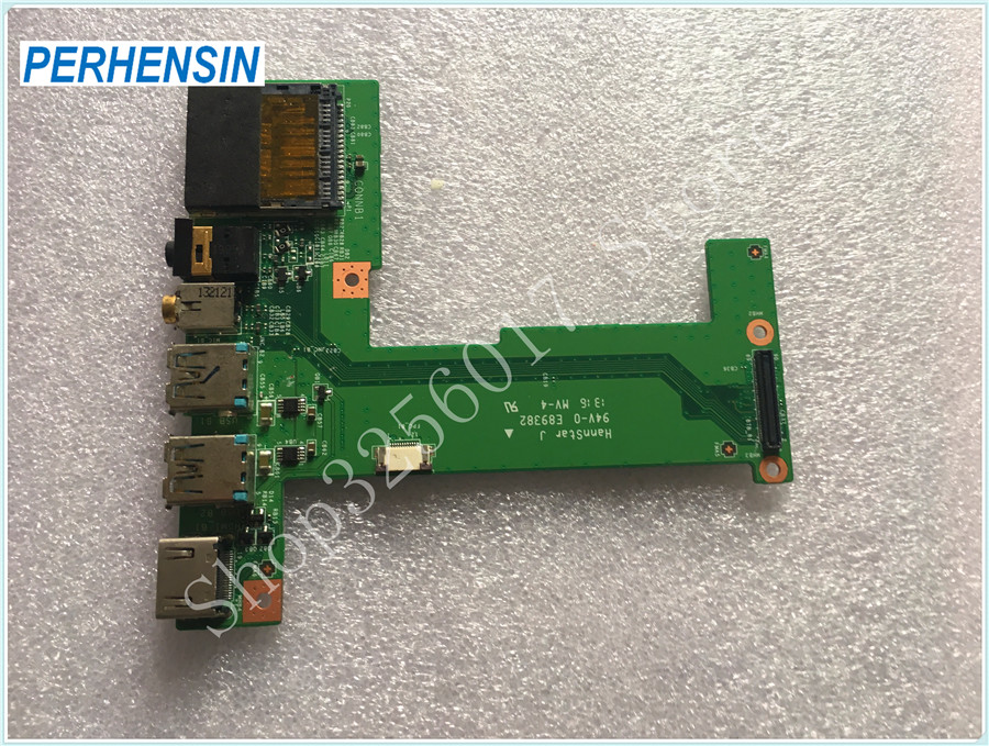 US $31 52 |FOR MSI FOR GE70 MS 1757 Genuine HDMI Audio USB port print board  MS 1757B REV 1,1-in Computer Cables & Connectors from Computer & Office on