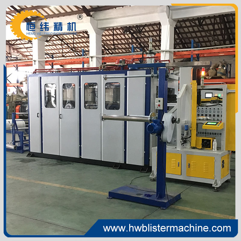 Best new hydraulic automatic <strong>pp</strong>/ps/pvc cup lid thermoforming machine for sale