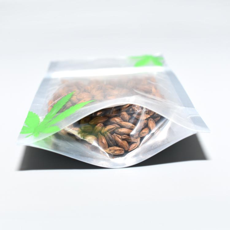 420 criança à prova de cheiros à prova de cookies california resealable zipper mylar mini sacos de embalagem ziplock para a erva daninha