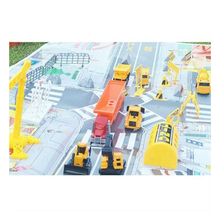 Dts-10826604 Die cast camion 1: 72 Emulational Die Cast Modello di Camion di Ingegneria per I Bambini