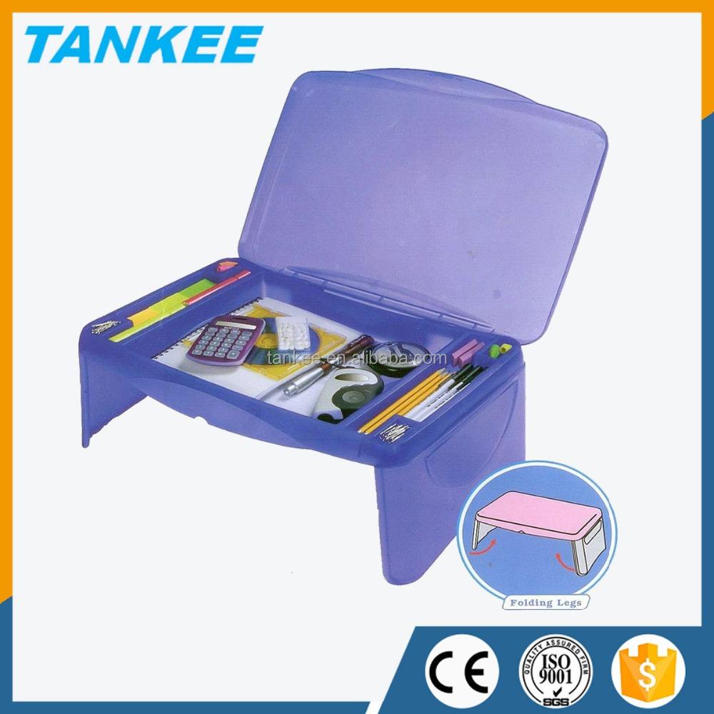 Plastic Storage Folding Lap Desk Supplieranufacturers At Alibaba