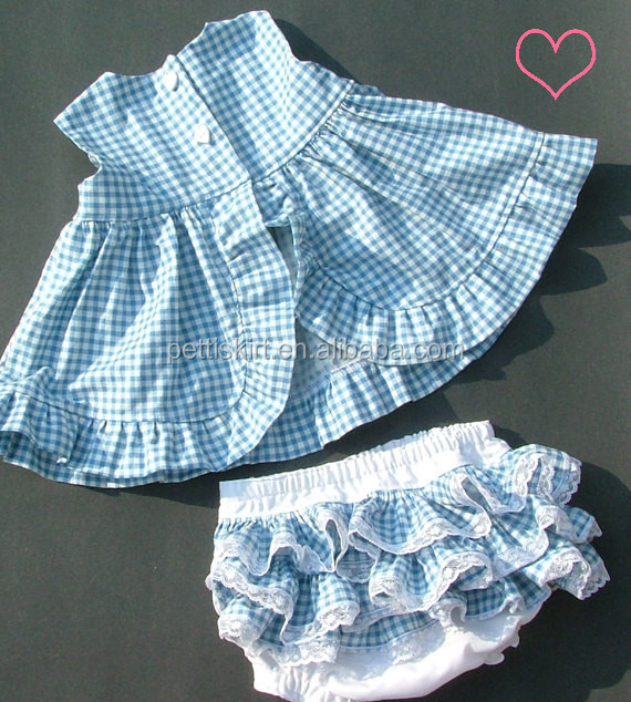 74fa82261 Birthday Dress For Baby Girl Gingham Dress With Bloomer Set Kids ...