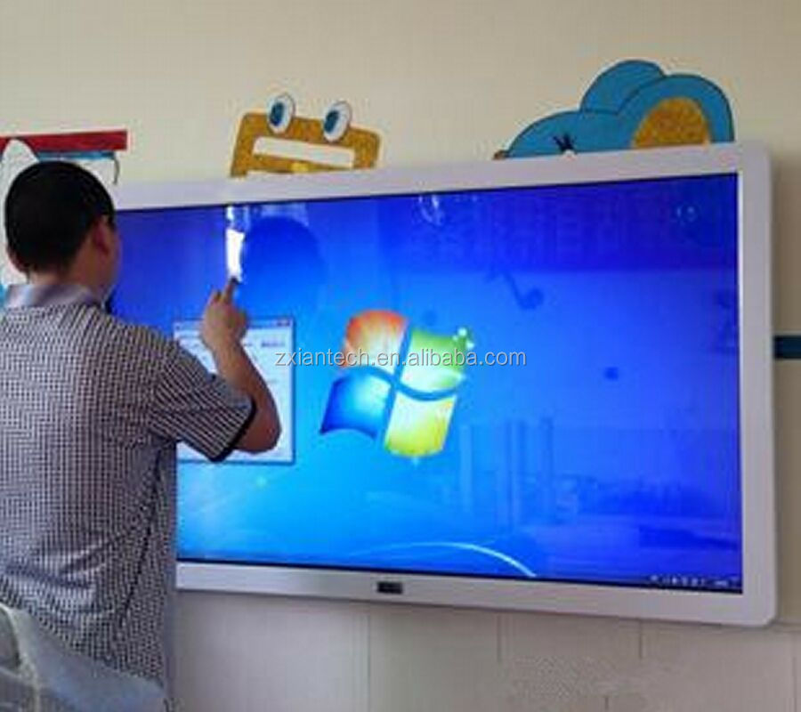 LED touchscreen geen projector interactieve whiteboard voor school