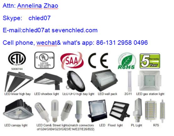 High Lumen led street lightE26/E27/ E39 / E40 27W to 60Ww led corn light bulb