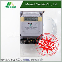 DDS28-1 Single Phase digital Energy Meter^^ Single Wire high Quality Electric Power Meter