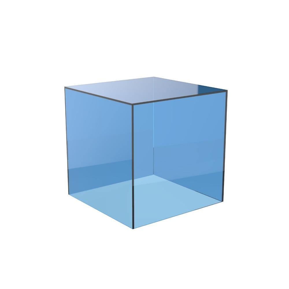 farbige acryl cube st nder platz 5 seitige box plexiglas fach einzelhandelsgesch ft inhaber. Black Bedroom Furniture Sets. Home Design Ideas