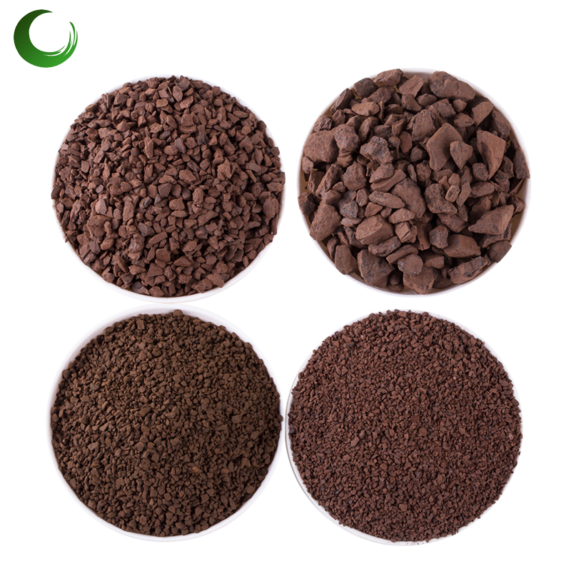 China manufacturer manganese dioxide sand for Water Iron Remove