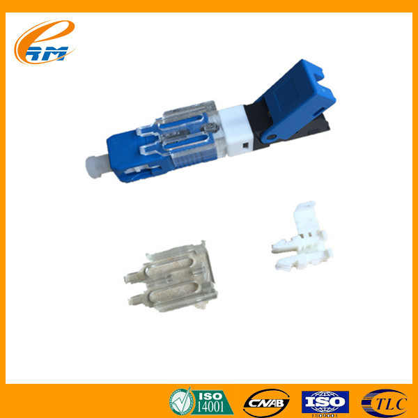 Mechanical Field-Mountable Fiber Optic Connector SC/UPC Cold quick Fast Connector single mode