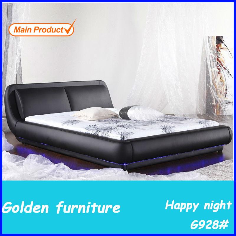 Liderado bajo una luz cama moderna-Camas-Identificación del producto ...