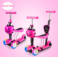 wholesale high quality best price 3 wheel kids kick scooter