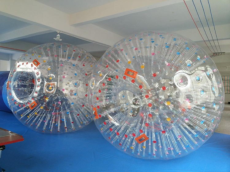 Plastic Snow Land Zorb Ball Inflatable Human Sized Hamster