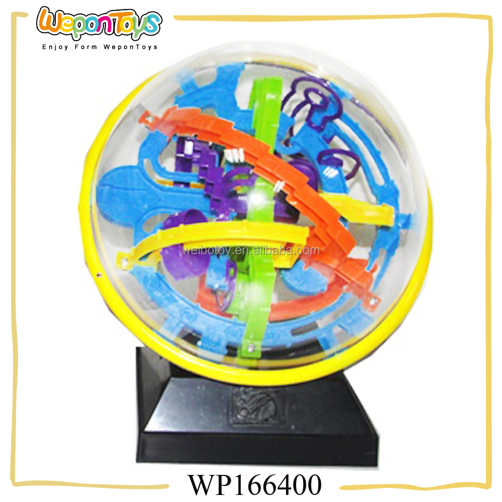 Toys & Hobbies Intellective Puzzle Ball Small Educational Magic Intellect Ball Marble Puzzle Game Perplexus Magnetic Balls Orders Are Welcome.