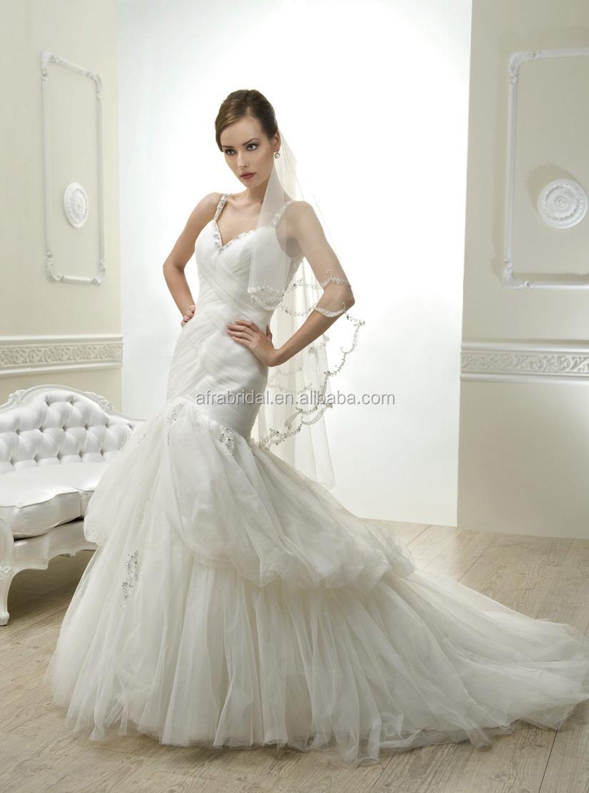 qq1696 sheer bling back tulle sexy mermaid bridal dress designer wedding dresses in karachi alibaba wedding