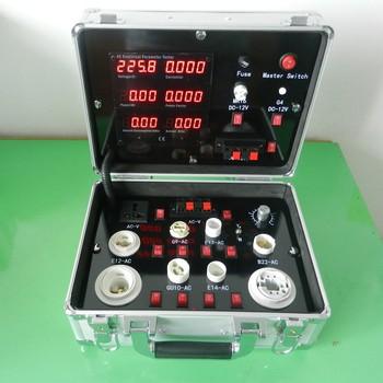 Alibaba Portable Multi-function Aluminum LED Demo Case - High Compatible LED Tester Test Meter