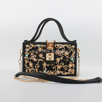Top Marken modische Muster neues Design 2017 New Fashional Luxury Weekender Bags For Women Acrylic Jewelry Designer  Clutch Bag - Buy Clutch Bag,Designer Clutch Bags,Weekender Bags For Women  ...