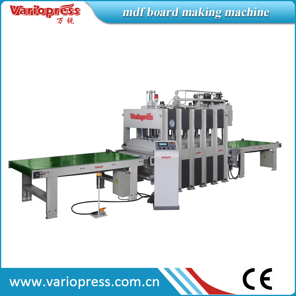 laminate mdf board making machine