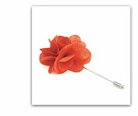 Unique china manufacturer wholesale flower lapel pins for dresses