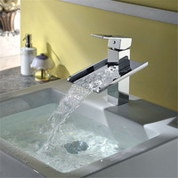 china manufacturer only produce top sanitary ware waterfall basin faucet