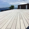 Outdoor driveways WPC decking cheap building materials